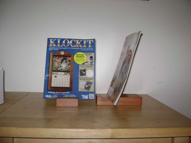 Book stands, with       magazines